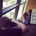 At a photoshoot for 'The Coveteur' [2013] - nikki-reed photo
