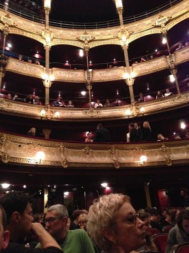 Attending Benjamin's LA Dance Project performance in Paris (May 22nd 2013)