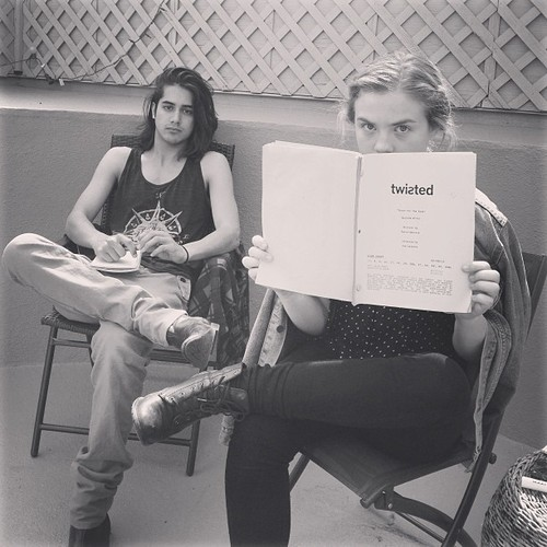 Avan Jogia and Maddie Hasson - Twisted (Abc Family) Photo ...