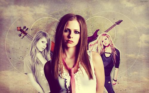 Avril Lavigne (Retro Style)