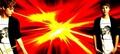 BG for Twitter : Justin Bieber Orange Explosion