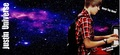BG for Twitter : Justin Bieber Purple Universe - justin-bieber-and-selena-gomez fan art