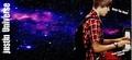 BG for Twitter : Justin Bieber Purple Universe