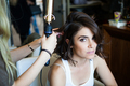 BTS of Nikki's 7 For All Mankind photoshoot - nikki-reed photo
