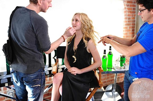 বাংট্যান বয়েজ of the 2013 Midori Ad Campaign photoshoot featuring Candice [HQ].