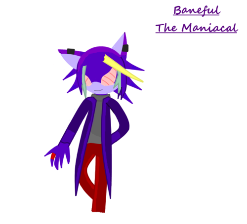Baneful the Maniacal (Colored lines, sort of lineless version)