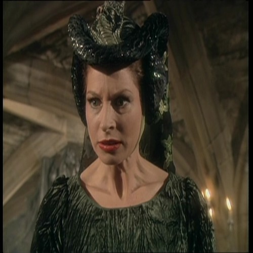 Barbara Kellermann as the Green Lady in The Silver Chair BBC tv show.