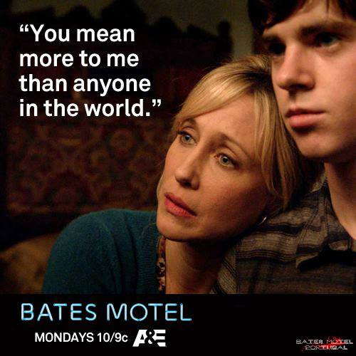 Bates Motel kertas dinding with a portrait entitled Bates Motel Petikan
