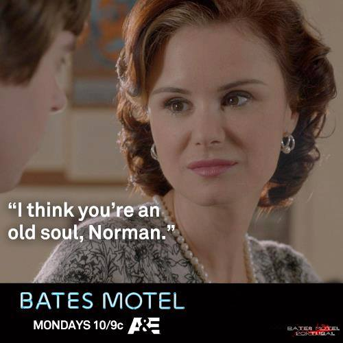 Bates Motel wallpaper containing a portrait titled Bates Motel Quotes