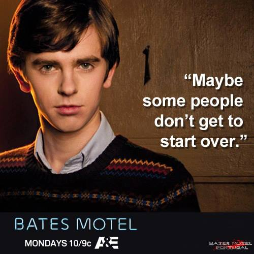 Bates Motel wallpaper possibly containing a portrait entitled Bates Motel Quotes