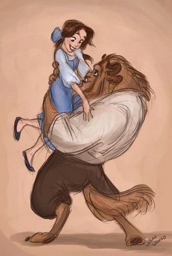 Beauty and the Beast wallpaper called Beauty & Beast