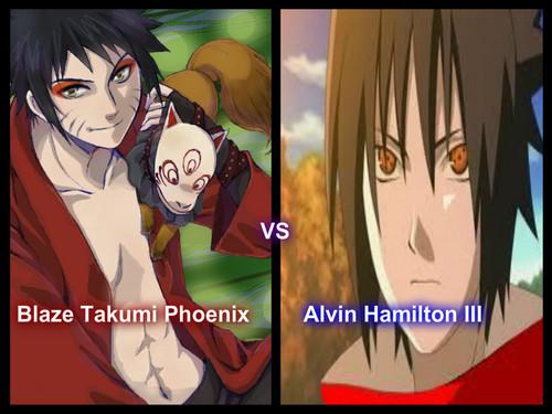 Blaze Takumi Phoenix vs Alvin Hamilton III