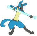Bone Rush  - lucario photo