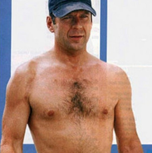 Bruce Willis wallpaper probably containing a hunk and a six pack called Bruce