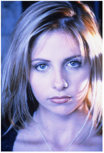 Buffy season 2 photo shoot