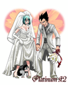 Bulma wedding dress - dragon-ball-females fan art