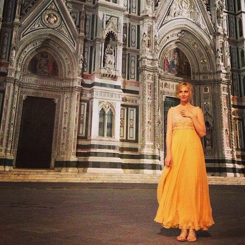 Candice in Italy