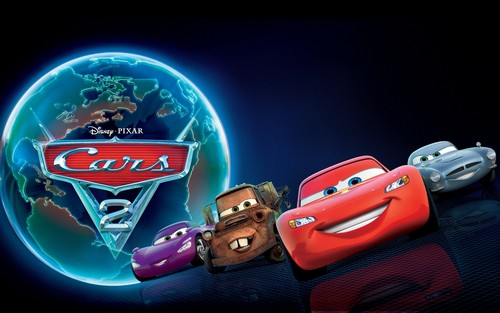 Cars 2 (Disney-Pixar) fond d'écran titled Cars 2