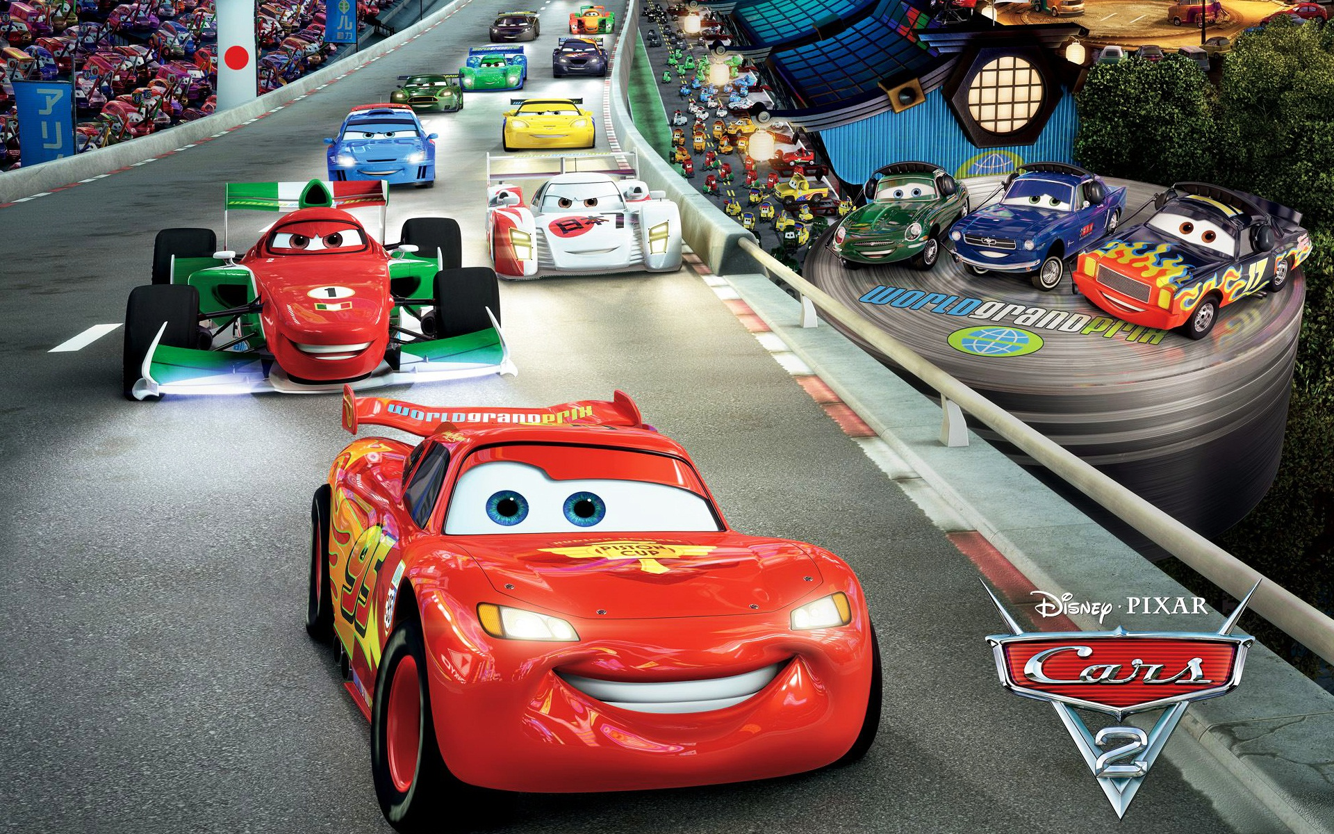 Cars 2 disney pixar cars 2 wallpaper 34551629 fanpop - Disney cars wallpaper ...