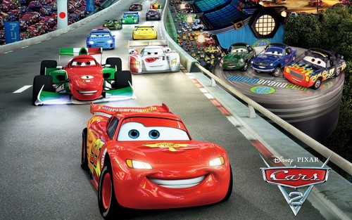Disney Pixar Cars 2 wallpaper probably with a stock car titled Cars 2