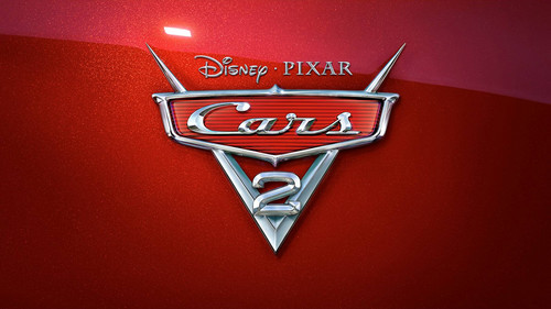 Disney Pixar Cars 2 Hintergrund probably containing a Tennis racket titled Cars 2