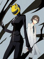 Celty and Shinra  - durarara photo