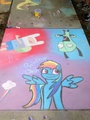 Chalk drawing Contest :) - my-little-pony-friendship-is-magic fan art