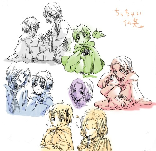 Chibi!France and England