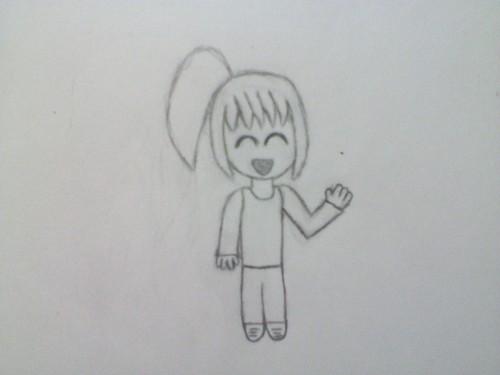 चीबी drawing