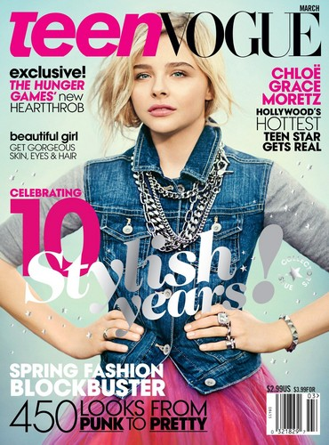 Хлоя Морец Обои with a portrait titled Chloe Moretz | Magazine Scans