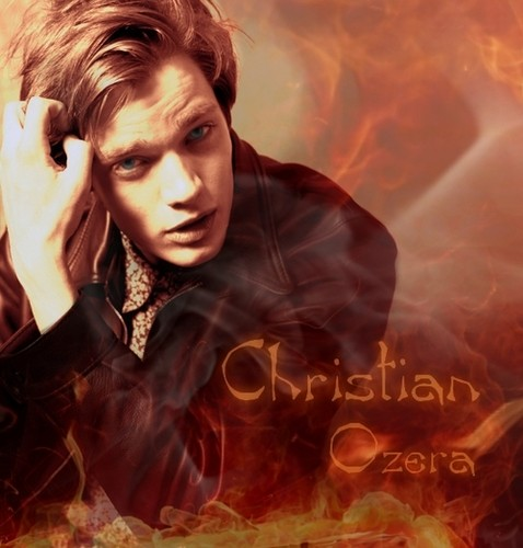 The Vampire Academy Blood Sisters वॉलपेपर possibly containing a fire, a fire, and ऐनीमे called Christian Ozera