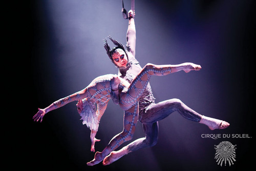 Cirque du Soleil 壁紙 titled Cirque du soleil, MJ immortal world tour