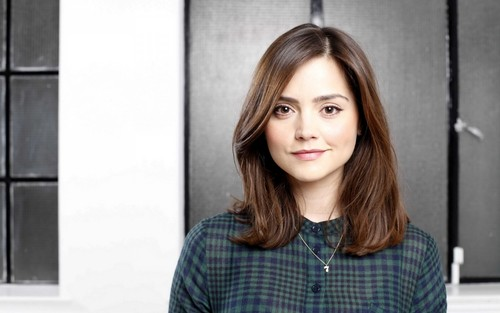 Doctor Who karatasi la kupamba ukuta with a portrait entitled Clara Oswin Oswald