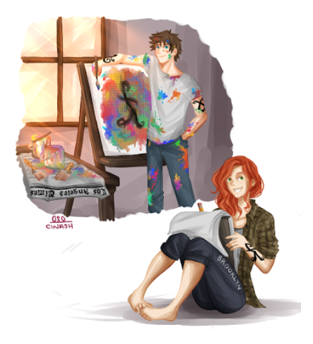 Clary Fray & Julian Blackthorn