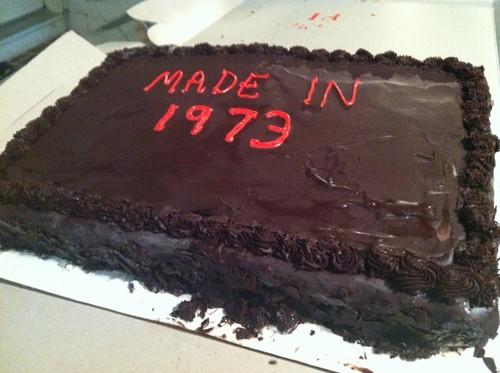 Cold Stone Creamery Ganache Birthday Cake