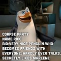 Corpse party/penguins Rico - penguins-of-madagascar photo