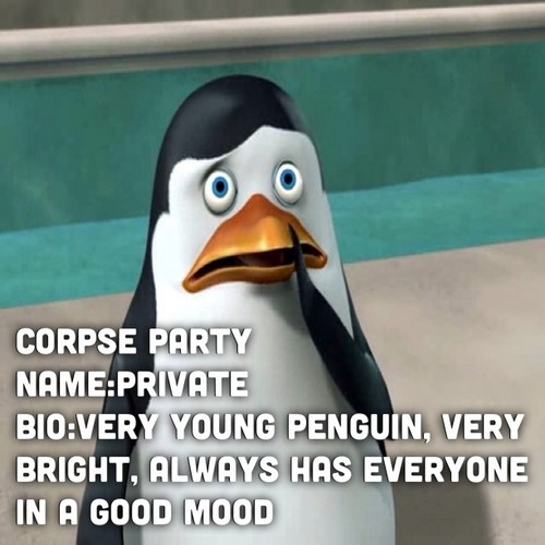 Corpse party/penguins private