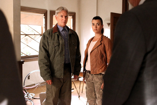 Cote de Pablo (Ziva David) NCIS 10x24 Damned If u Do episode stills