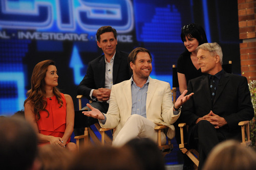 Cote de Pablo and the Navy CIS cast on The Talk- 5/14/13