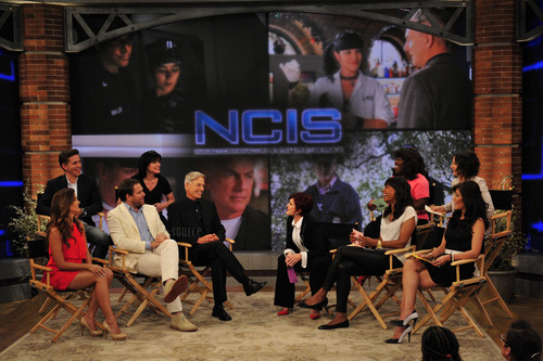 Cote de Pablo and the Navy CIS cast on The Talk - 5/14/13