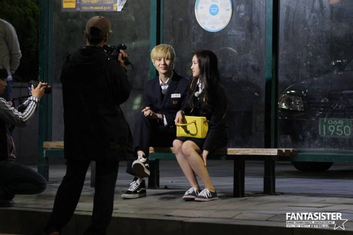 Cute Taemin and Naeun <3