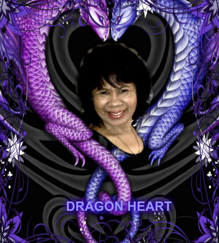 Dragons achtergrond entitled DRAGON hart-, hart AND SOUL