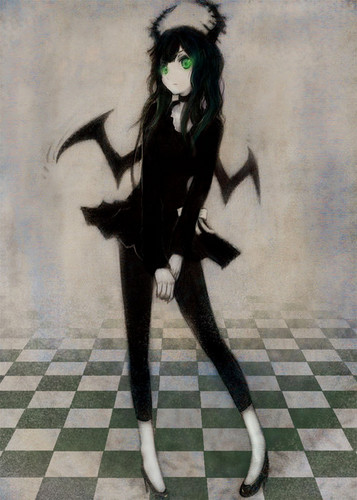 Black★Rock Shooter 壁纸 possibly with a hip boot titled Dead Master