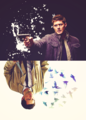 Dean & Castiel  - supernatural fan art