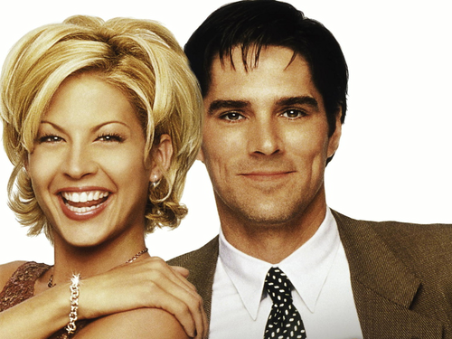 Dharma & Greg wallpaper containing a business suit entitled Dharma & Greg