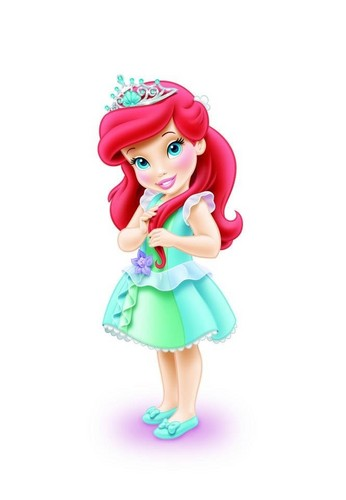 Disney Princess wolpeyper entitled Disney Princess Toddlers - Princess Ariel