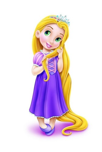 Disney Princess kertas dinding titled Disney Princess Toddlers