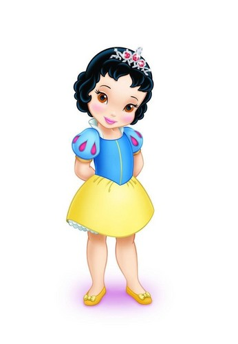Disney Princess karatasi la kupamba ukuta titled Disney Princess Toddlers