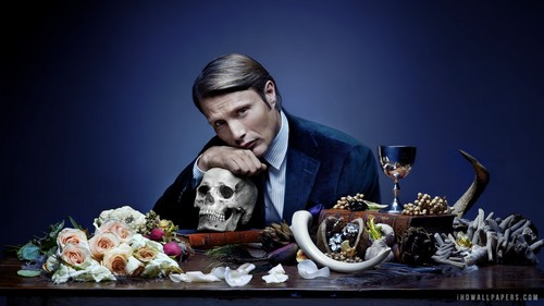 Hannibal TV Series wallpaper possibly containing a coffee break, a sign, and a bouquet titled Dr. Hannibal Lecter <3