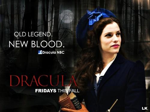 Dracula NBC 2013 promotional fondo de pantalla